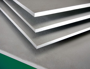 Moisture-Resistant Gypsum Board: High Recycled Content