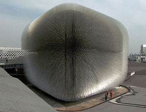 Dandelion-Like Pavilion Opens at Shanghai Expo