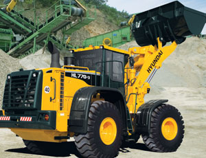 Wheel Loader: Load-Sensing Hydraulics