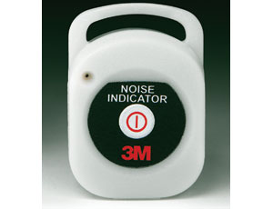 Preserve Hearing: Noise-Level Indicator