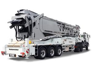 Trailer-mounted Concrete Conveyor: Mobile