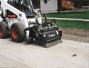 Planer Attachments: Skid-Steer Loaders Tackle Road Work