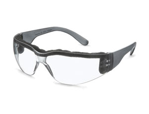 Safety Glasses: Foam Band Cuts Down on Dust