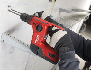 Cordless Rotary Hammer: Keeps a Charge