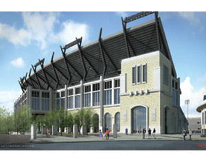 Texas School's Historic Stadium Gets $105-Million Rehab in Fall