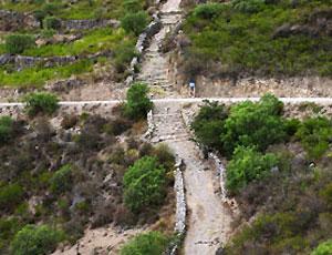 Newspaper Rock: Inca roads better than Roman roads