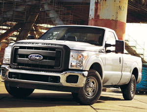 General Motors Outguns, But Ford Takes Top Construction Pickup in Heavy-Duty Shoot-Out