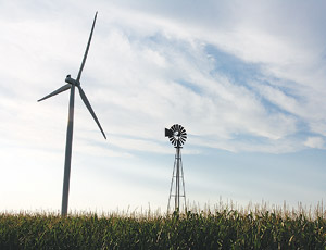 A lack of federal legislation for renewable energy is holding back the market for wind power and green jobs, supporters say.