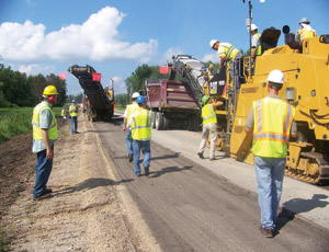 Silica Is Part of a Milling Crew's Daily Grind, But Asphalt Group May Soon Reduce the Risk