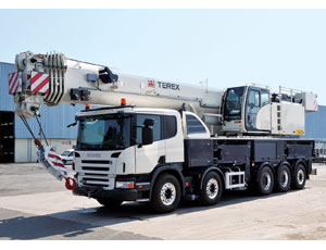 Truck-Mounted Crane: Long Boom, High Capacity
