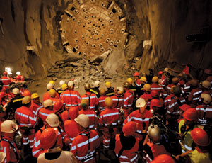 Swiss Complete Drilling on World's Longest Tunnel
