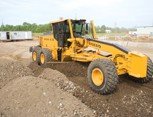 Motor graders are one product that Volvo is consolidating at its Shippensburg plant, which it acquired from Ingersoll-Rand.