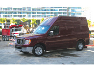 With its new NV commercial van, Nissan has updated the decades-old silhouette of the Ford Econoline and the Chevy Express.
