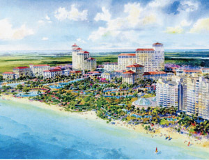 The Baha Mar resort-casino will be one of the largest construction projects ever undertaken by a Chinese contractor in North America.