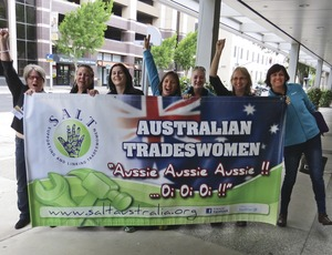 Union Tradeswomen Record Conference Turnout Buoys Efforts