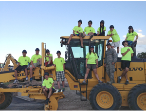 Military Engineers' Construction Camps: Learn Alot, Have Fun and Wear Great T-Shirts!