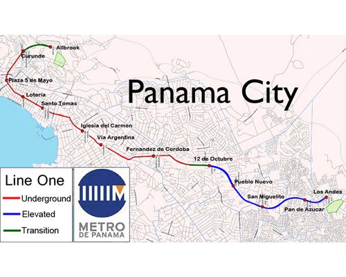 Excavation Under Way On Panama City Metro 2012 05 28 Enr
