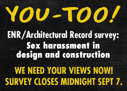 ENR Construction Sexual Harassment Survey 2018