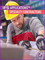 IFS Applications for Specialty Contractors