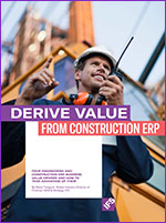 IFS Derive Value From Construction ERP