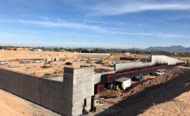 Ritz Carlton construction site