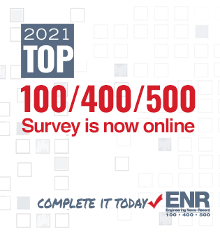 ENR 2021 Top 100/400/500 Survey