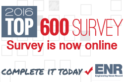 ENR Top 600 Survey