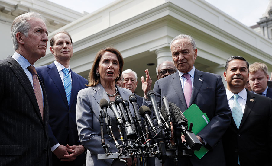 Democrats Are Spotlighting Big >> Key Democrats Trump Agree To Work On 2 Trillion Infrastructure
