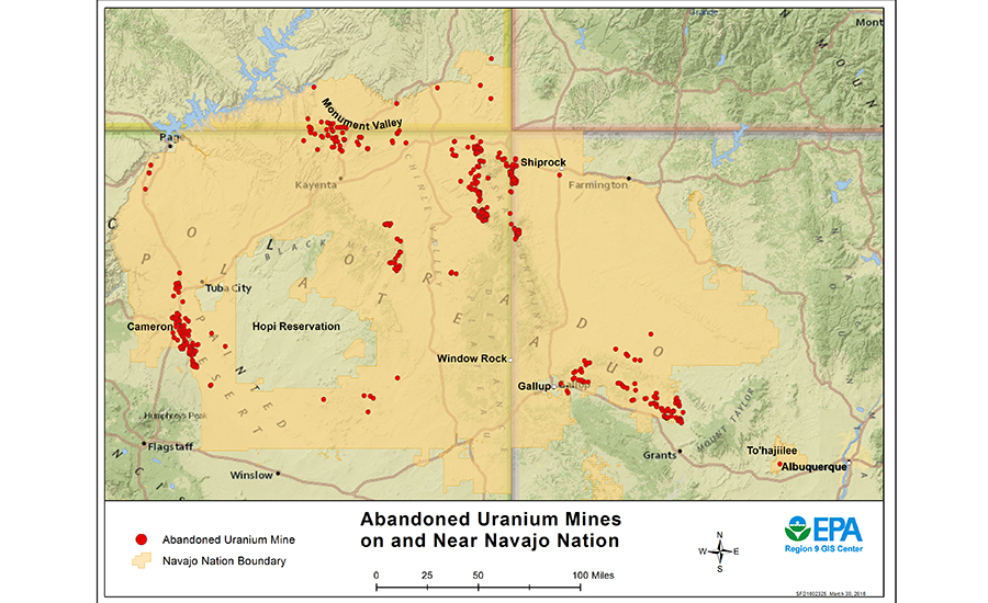 Abandoned Uranium Mines In Arizona Assessed For Remediation 2018 07 05 Engineering News Record