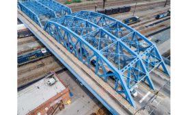 Leggett Avenue Ave. Bridge Bronx drone view