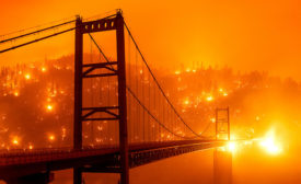 2020 California Fire Sept Bridge