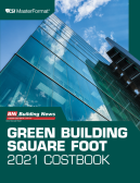 2021 BNi Green Building Square Foot Costbook