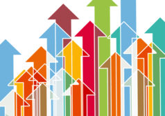 Growth Arrows Stock Art