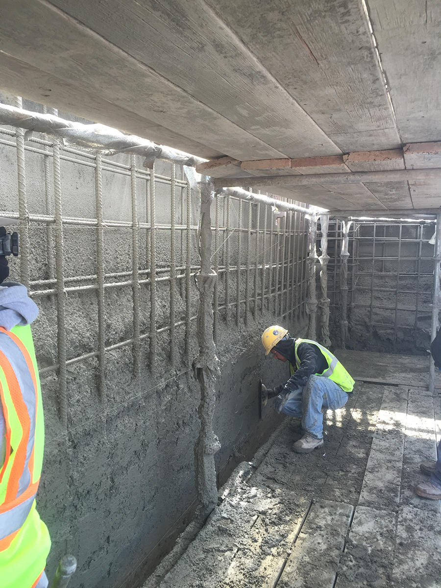 Viewpoint Use Of Shotcrete Brings New Construction
