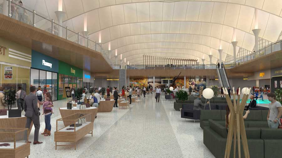DIA Terminal Renovation