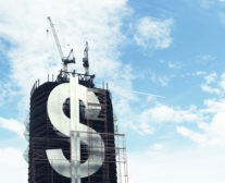 Dollar Sign on Building