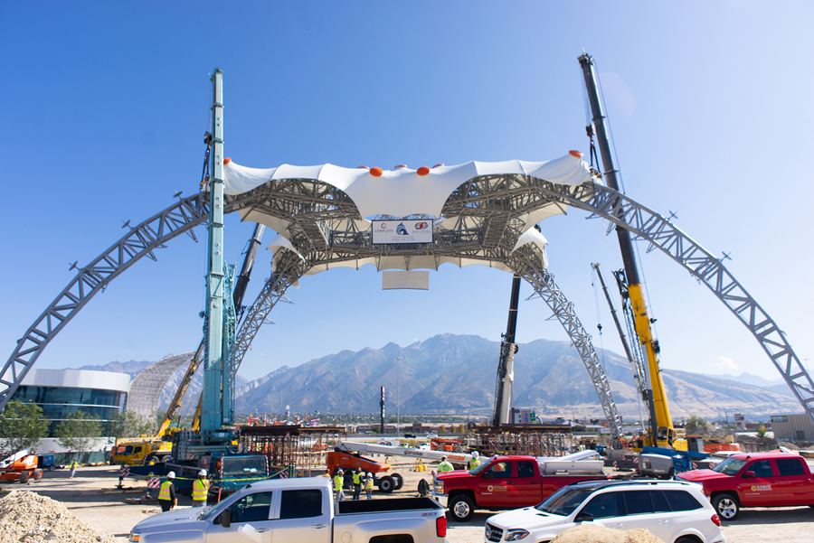 Famous Concert Stage Structure Becomes New Landmark for Utah Aquarium Expansion