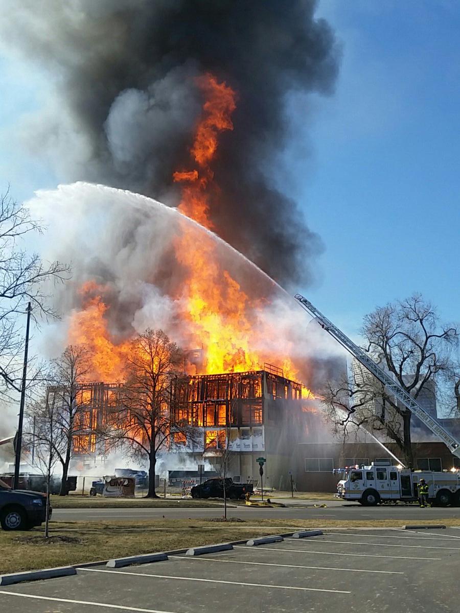 Denver Apartment Fire