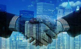Mergers Handshake