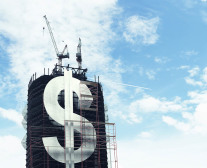 Dollar Sign on Building
