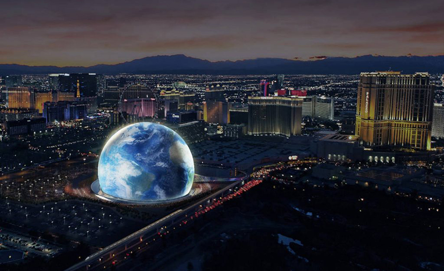 Fallout New Vegas 2020 Las Vegas Sphere set for 2021 opening with a new monorail station