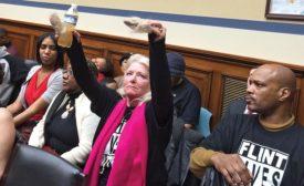 Flint protestors