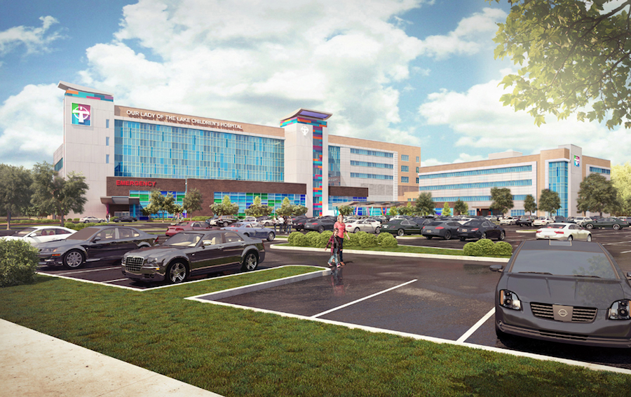 230M Hospital Project Underway In Baton Rouge 2016 04