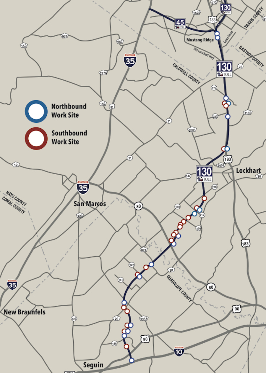 $60 Million Reconstruction Project to Start on SH 130