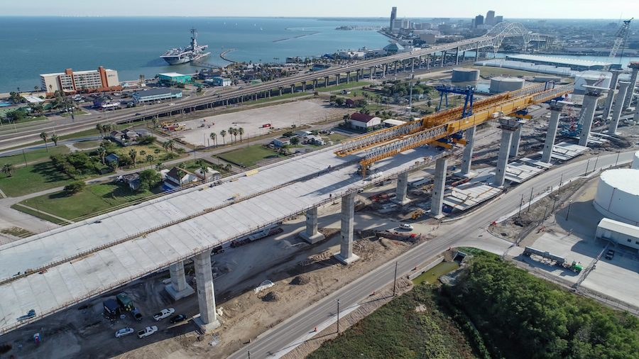 Despite Unresolved Design Issues, Corpus Christi Harbor Bridge Construction Continues