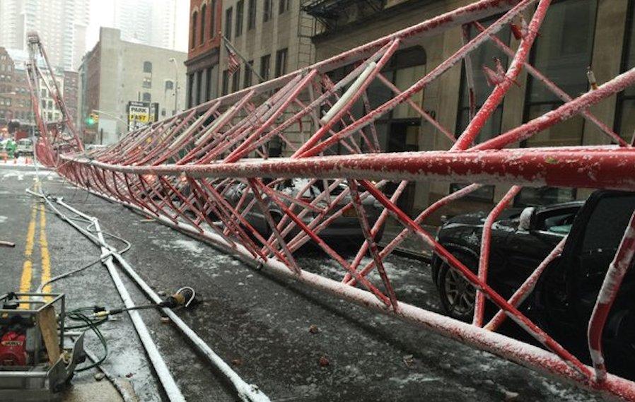 Tower Crane New York : Precautions failed to stop latest ly new york city