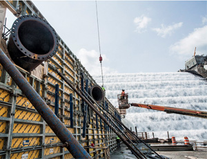 Gilboa Dam Reconstruction Project