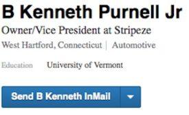 B. Kenneth Purnell, Jr. LinkedIn Profile Credentials