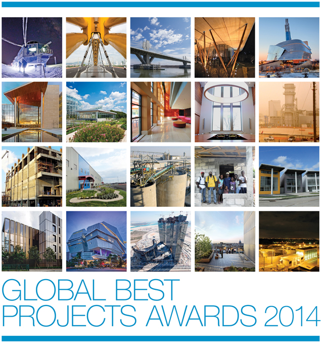 2014 Global Best Projects Awards