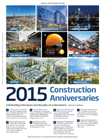 Construction Anniversaries